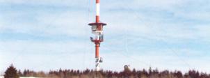 Sanierung des Fernsehturm am Heidelstein in der Rhön