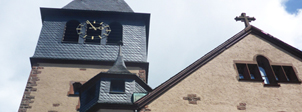 Kirche in Rechtenbach von außen - Gutachten