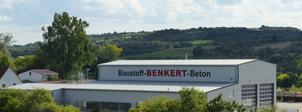 Neubau einer LKW-Halle bei der Fa. Baustoff Benkert in Thüngersheim