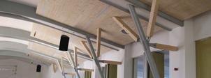Umbau und Modernisierung der Mehrzweckhalle in Urspringen
