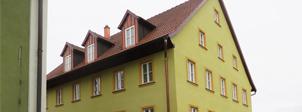 Sanierung und Modernisierung eines Wohnhauses in Billingshausen