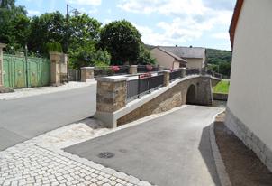 Sanierung Bogenbrücke Müdesheim