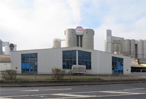 Neubau einer Produktionshalle bei der Fa. Düker in Karlstadt