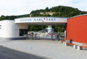 Sanierung Freibad Karlstadt mit Erneuerung der Becken und der Funktionsgebäude