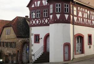 Umbau und Sanierung des denkmalgeschützten Rathauses in Retzbach