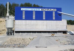 Neubau Klassieranlage Schotterwerk Schraud