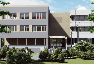 Neubau eines Verwaltungsgebäudes für die Stadtwerke Karlstadt